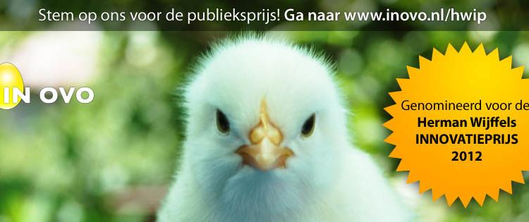 Herman Wijffels Innovatieprijs 2012 - In Ovo - publieksprijs